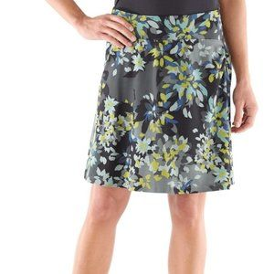 REI Northway Floral Athletic Outdoor Skirt